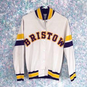Vintage Bristow Cotton Letterman Jacket